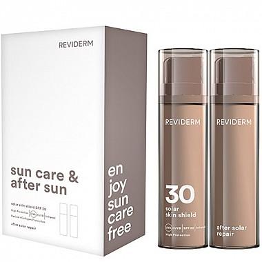 Reviderm sun care & after sun set - Solar Skin Shield SPF 30 + After Solar Repair