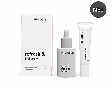 REVIDERM refresh & infuse 30+15ml Set