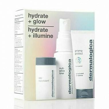Dermalogica hydrate + glow - hydrate + illumine kit