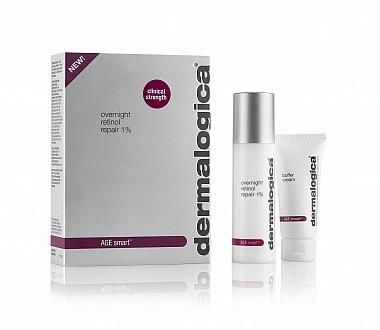 Dermalogica AGE Smart Overnight Retinol Repair 1% + Buffer Cream