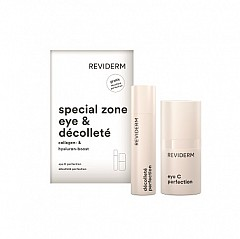 Reviderm special zone eye & decollete set
