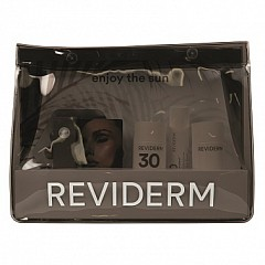 Reviderm Enjoy the Sun  Set / OPC Age Control, Sun Protect+ SPF 50, Beach Serum, Solar Skin Shield SPF 30, After Solar Repair