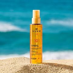 NUXE SUN huile bronzante haute protection SPF30 spray 150ml