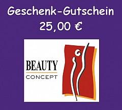 Gutschein Online-Shop 25,- Euro