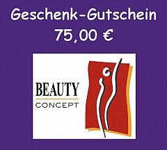Gutschein Online-Shop 75,- Euro