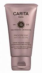 Carita Progressif Anti-Age-Solaire Crème Solaire Visage Hydratante Protectrice SPF 10