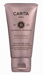 Carita Progressif Anti-Age-Solaire Crème Solaire Visage Hydratante Protectrice SPF 30