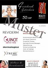 Geschenk-Gutschein Kosmetikstudio Beauty Concept L2