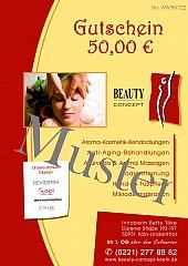 Geschenk-Gutschein Kosmetikstudio Beauty Concept L1