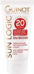 Guinot Uni Bronze Unifying Sunscreen FPS/SPF20 50ml Getönte anti-age sonnecreme